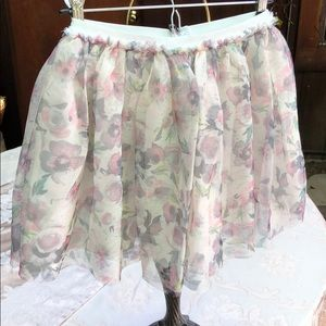 Other - Children's Place Flowered Tulle Skiry